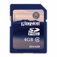 Kingston, SDHC Class 4, 4GB