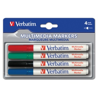 Verbatim, Multimedia Markers 4 Pack